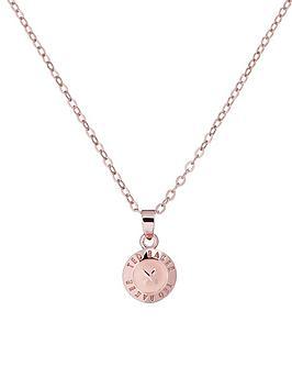 ted-baker-mini-button-pendant-rose-gold