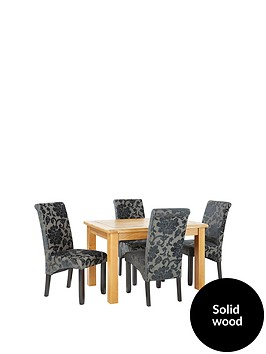 oakland-120-cm-solid-wood-dining-table-4-oxford-chairs
