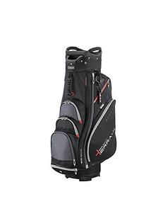 big-max-terra-x-2-cart-bag-black-charcoal-red