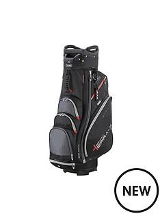 big-max-terra-x-2-cart-bag-black-charcoal-red