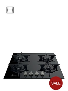 indesit-aria-pr642ibkuk-60cmnbspbuilt-in-gas-hob-with-fsd-and-optional-installation-black