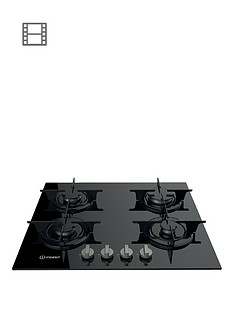 indesit-aria-pr642ibkuk-60cmnbspbuilt-in-gas-hob-with-fsd-black