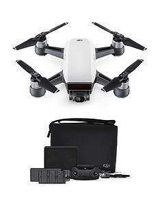 dji-spark-fly-more-combo-quadcopter-drone-uk-alpine-whitenbsp