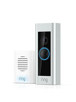 Ring Ring Video Doorbell Pro Kit - Pro Video Doorbell + Chime Self Install Picture