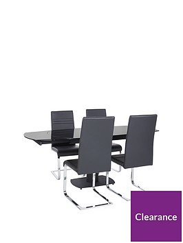 thea-spin-120-180-cm-extending-dining-table-4-chairs
