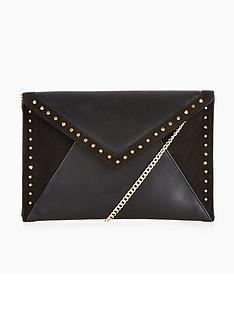 carvela-deana-studded-clutch-bag