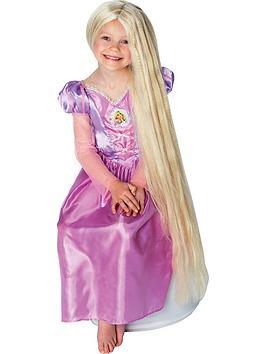 Disney Princess Disney Princess Rapunzel Long Glow In The Dark Childs Wig Picture