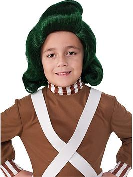 Very Oompa-Loompa Childs Wig Picture