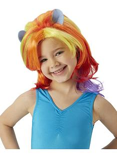 4b644b463db My Little Pony Rainbow Dash Wig