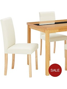 evelyn-120-cm-solid-wood-and-glass-table-4-lucca-chairs