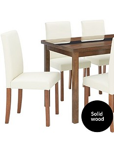 evelyn-120cm-solid-wood-and-glass-table-6-lucca-chairs