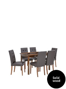 evelyn-120cm-solid-wood-and-glass-table-6-derby-chairs