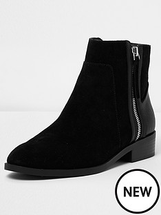 river-island-river-island-peace-zip-side-flat-chelsea-ankle-boot