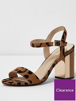 river-island-river-islandnbspblock-barely-heeled-sandal