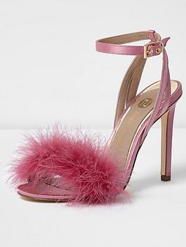 river-island-river-islandnbspfaux-fur-barely-there-heeled-sandal