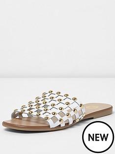 river-island-grace-mesh-sandal