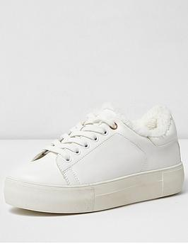 river-island-white-borg-lining-lace-up