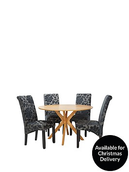 starburst-119-cm-oak-veneer-circular-dining-table-4-oxford-chairs-arrives-in-one-delivery