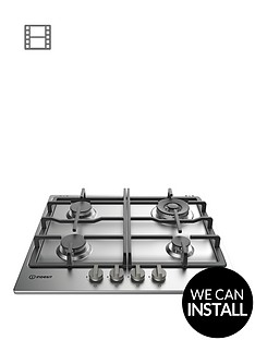 indesit-aria-thp641wixi-60cm-gas-hob-stainless-steel