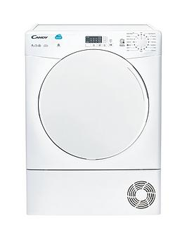 candy-csc9lf-9kg-load-condenser-sensor-tumble-dryer-with-smart-touch-white-next-day-delivery
