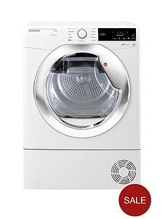 hoover-one-touchnbspdxc8tce-8kgnbspcondenser-tumble-dryer-whitechrome