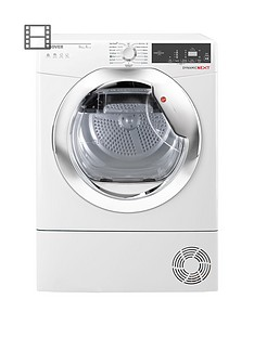 hoover-dynamic-nextnbspdxh9a2tce-9kgnbspload-heatnbsppump-tumble-dryer-with-one-touch-whitechrome