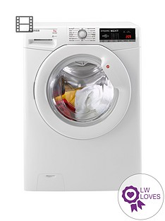 hoover-dynamic-nextnbspdxoa1473lw3-7kg-load-1400-spin-washing-machine-with-one-touch-white