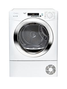 candy-grand-o-vitanbspgvsc10dcg-10kgnbspload-condenser-sensor-tumble-dryer-with-smart-touch-whitechrome