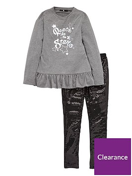 v-by-very-frill-tee-amp-sequin-legging-set-greyblack