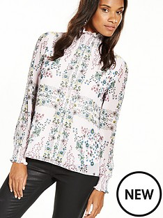 ted-baker-high-neck-floral-blouse-nude-pink