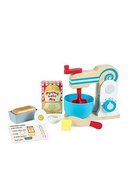 Melissa & Doug Melissa & Doug Wooden Make-A-Cake Mixer Set Picture