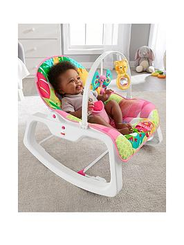 Fisher-Price Fisher-Price Rainforest Infant To Toddler Rocker - Pink Picture