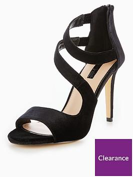 miss-selfridge-multistrap-heeled-sandal
