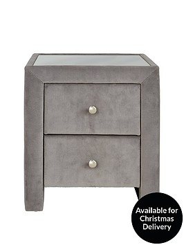 faux-suede-bedside-table