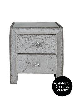 crushed-velvet-bedside-table