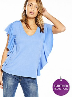 v-by-very-frill-side-detail-top-sky-blue