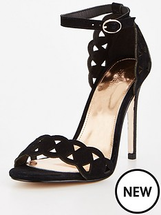 michelle-keegan-michelle-keegan-laser-cut-suede-heeled-sandal-black