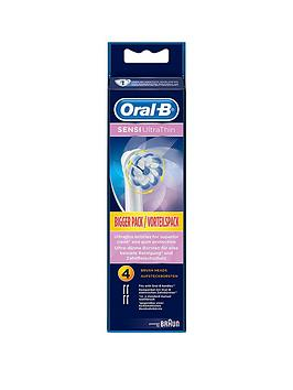 Oral-B   Oral B Sensiclean 4Pk Brush Heads