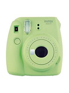 fujifilm-instax-instax-mini-9-instant-camera-with-10-or-30-pack-of-paper--nbspice-blue