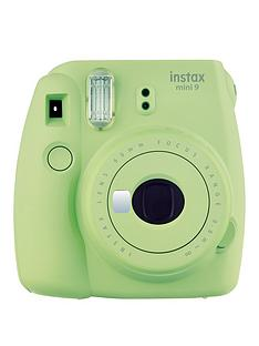 fujifilm-instax-instax-mini-9-instant-camera-with-10-or-30-pack-of-paper--nbsplime-green