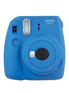 fujifilm-instax-instax-mini-9-instant-camera-with-10-or-30-pack-of-paper--nbspcobalt-blue