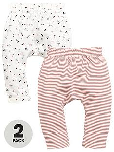 mini-v-by-very-baby-girls-2-pack-floral-ribbed-leggings