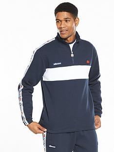 ellesse-turati-half-zip-taped-mensnbsptrack-jacket