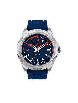 hugo-hugo-boss-orange-honolulu-blue-dial-blue-silicone-strap-men-watch