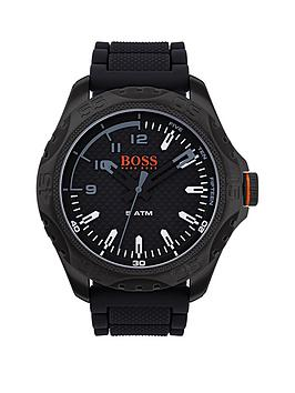 boss-hugo-boss-orange-honolulu-black-dial-black-silicone-strap-mens-watch