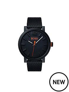 hugo-boss-hugo-boss-orange-bilbao-black-dial-black-leather-strap-mens-watch