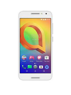 alcatel-a3-white