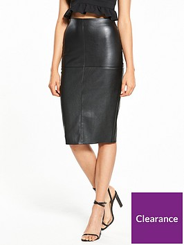 river-island-pu-pencil-skirt