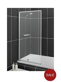 aqualux-aqua-3-fully-framed-bath-screen