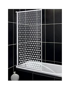aqualux-aqua-3-bath-screen-with-spotted-glass-pattern